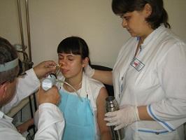 лечение ринита методом криотерапии